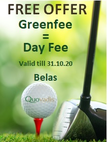 Day Fee offer at Belas Clube de Campo
